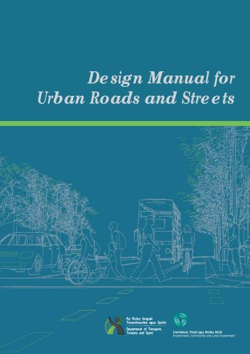Design Manual for Urban Roads and Streets - Department of Transport
