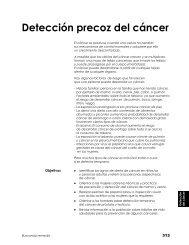 Detección precoz del cáncer de mama - Bienvenidos a AIS Nicaragua