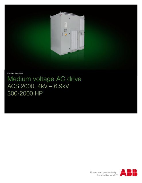 Medium voltage AC drive - Simark Controls