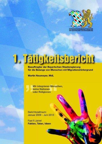 IntB, Bearbeiter/in - Integrationsbeauftragter der Bayerischen ...