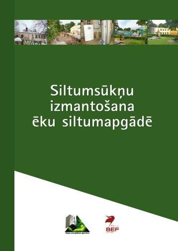 Siltumsūkņu izmantošana ēku siltumapgādē - Rīgas enerģētikas ...