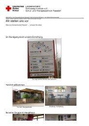 Wir stellen uns vor - DRK-Schul