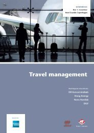 Travel management - DBTA