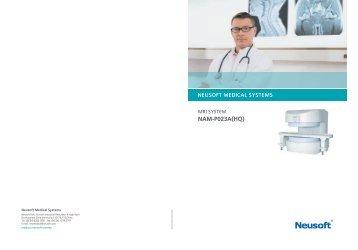Brochure NAM-P023A - Neusoft