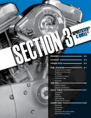 EnginEs 3-2 Exhaust 3-3 PowEr Kits 3-4 FuEl systEms ... - S&S Cycle