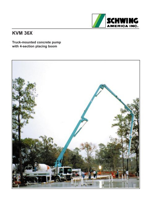 KVM 36X - Concrete Equipment Inc