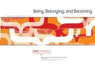 Being, Belonging, and Becoming - Collingwood Neighbourhood ...