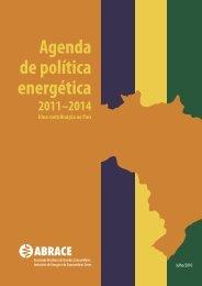 Agenda de política energética - Fórum Nacional de Energia