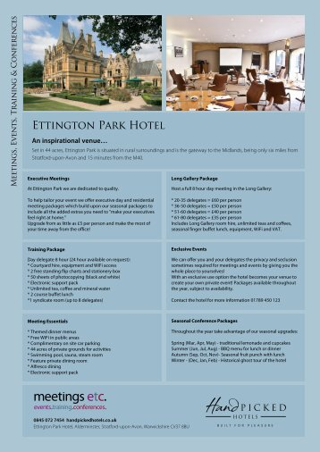 Download PDF - Hand Picked Hotels