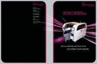GenesisSC Platform Solutions brochure - Universal Instruments ...