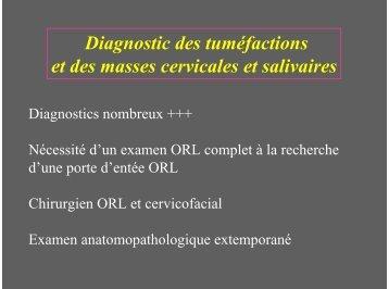 masses cervicales