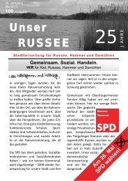 Unser RUSSEE - SPD Kreisverband Kiel