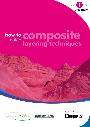 Composite & layering techniques - Dentsply