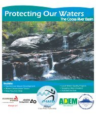 Coosa River Basin Educational Newspaper Insert - Alabama Clean ...