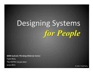 Download presentation slides - MIT SDM