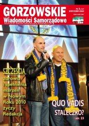GWS nr 01 / 2010 - Gorzów