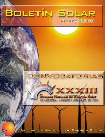 Concurso al Emprendedor Solar - Asociación Nacional de Energía ...
