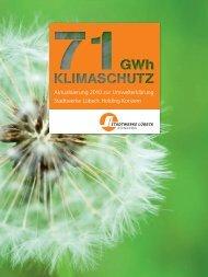 Aktualisierung 2010 zur Umwelterklärung Stadtwerke Lübeck - EMAS