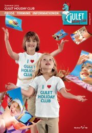 gulet holiday club - Gulet Touristik