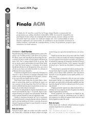 roblem Finala ACM - GInfo