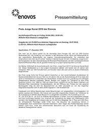 Preis Junge Kunst 2010 der Enovos