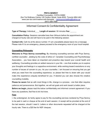 confidentiality and minors Consent to treat an unaccompanied minor / adolescent confidentiality to  parents and guardians of minor children: the providers and staff of park view.