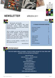 PPM Newsletter - Březen 2011 - Prague Patchwork Meeting