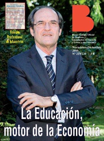 Nº 219/220 (2010) - Colegio de Doctores y Licenciados