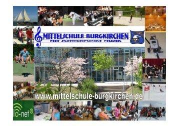 GANZTAGESKLASSE: Konkret an der Mittelschule Burgkirchen