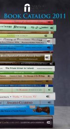 Book Catalog 2011 - Franciscan Institute Publications