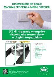 Trasmissione a cinghia dentata EAGLE NRG™ vs Trasmissioni a ...