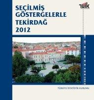 TEKİRDAĞ - Türkiye İstatistik Kurumu