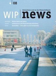 Ausgabe 4 - wip – wissenschaftspark trier