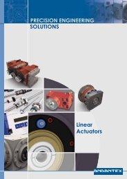 SOLUTIONS Linear Actuators - Andantex UK