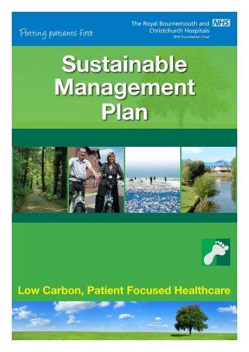 Sustainable Management Plan - Royal Bournemouth Hospital