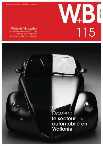 Revue Wallonie-Bruxelles n°115 mars 2012 - WBI