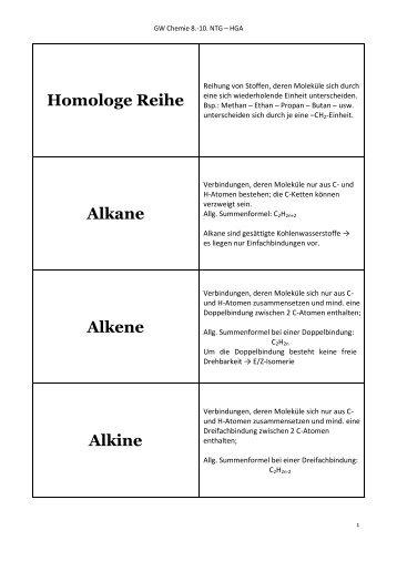 Fantastisch Alkane Und Alkene Arbeitsblatt Bilder - Mathe ...