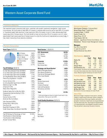 Life/Pension Fund Quickrank