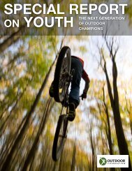 Special Report on Youth - The Outdoor Foundation