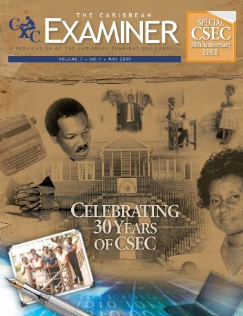 Where are they now? - Caribbean Examinations Council