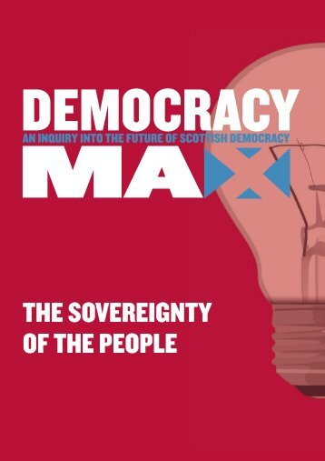 THE SOVEREIGNTY OF THE PEOPLE - Electoral Reform Society