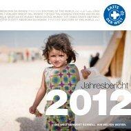 Ärzte der Welt e.V., Jahresbericht 2012