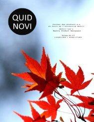 October 2, 2012 - McGill University