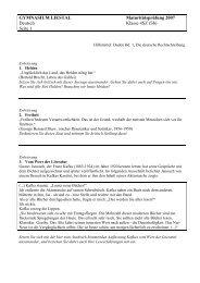 Deutsch 4SZ 2007.pdf - Gymnasium Liestal