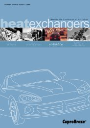 Part 3: Automobiles - the CuproBraze Alliance