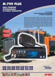 BROCHURE M-799 PLUS Front (Page 1)