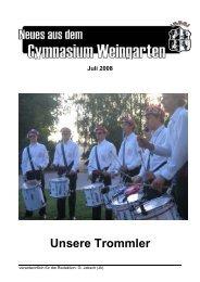 Juli 2008 - Gymnasium Weingarten