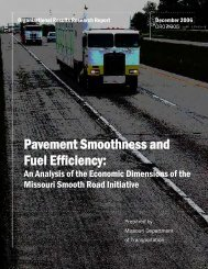 Pavement Smoothness and Fuel Efficiency: