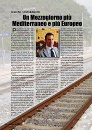 Un Mezzogiorno più Mediterraneo e più Europeo - Porto & diporto