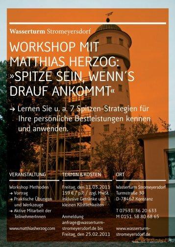 Ausführliche Informationen (PDF) - Wasserturm Stromeyersdorf